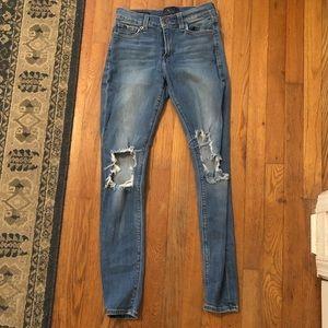Lucky Brand distressed denim jeans